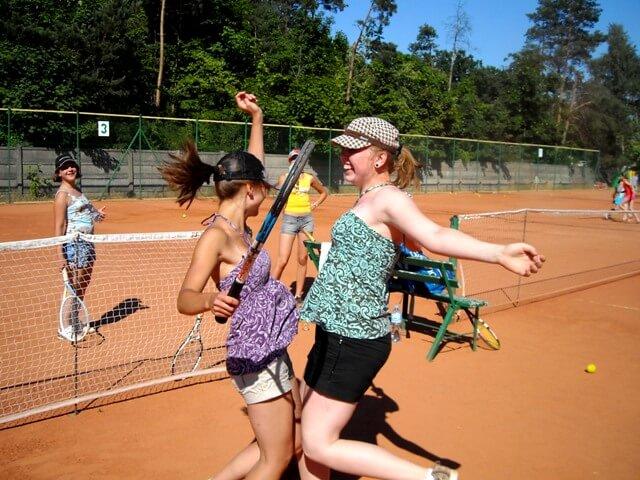Obóz tenisowy Wiśniowa Góra