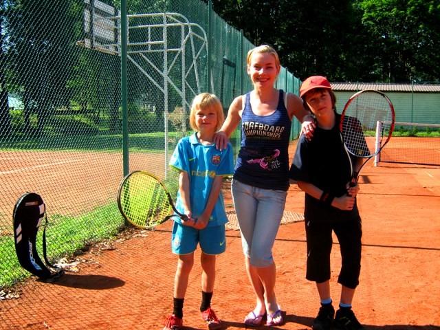 Obóz tenisowy Harasiuki