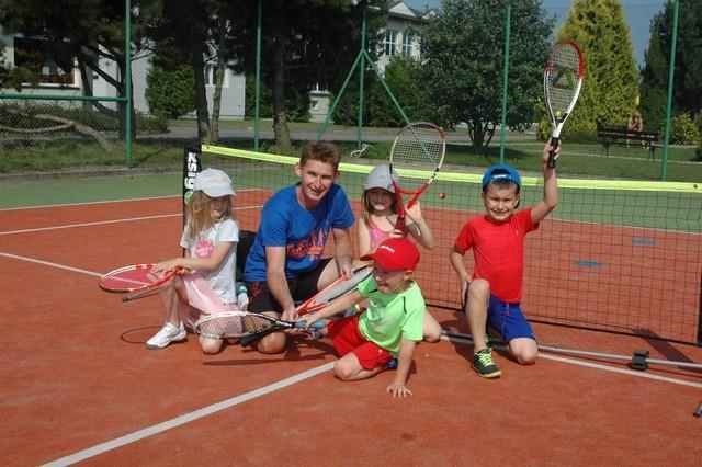 Kolonia tenisowa z Babcią Maliną w Sypniewie