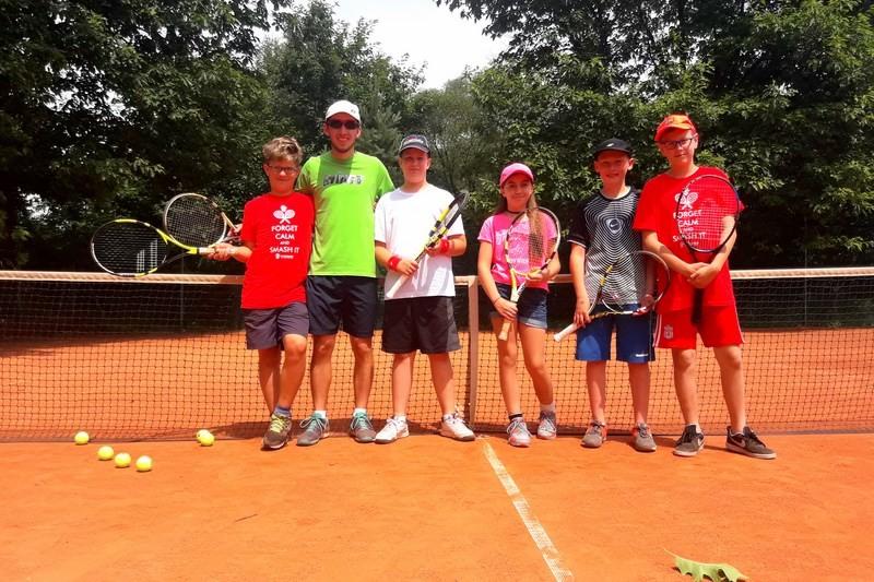 Obóz tenisowy i PRO Camp w Harasiukach I