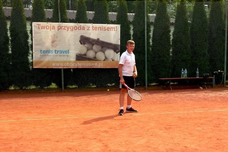 Obóz tenisowy i PRO Camp w Harasiukach II