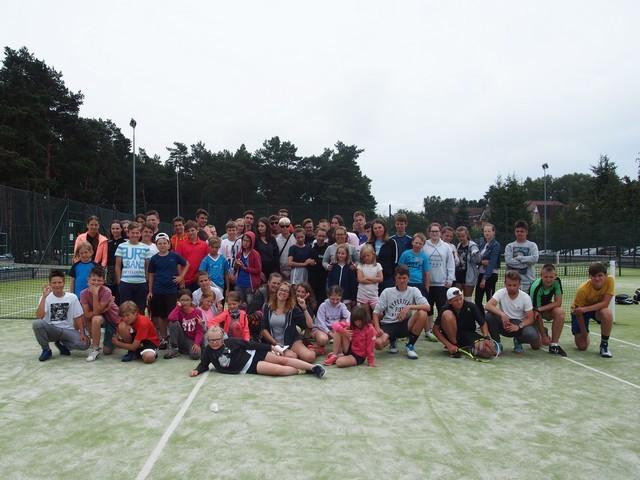 Obóz tenisowy w Pobierowie 1 Turnus