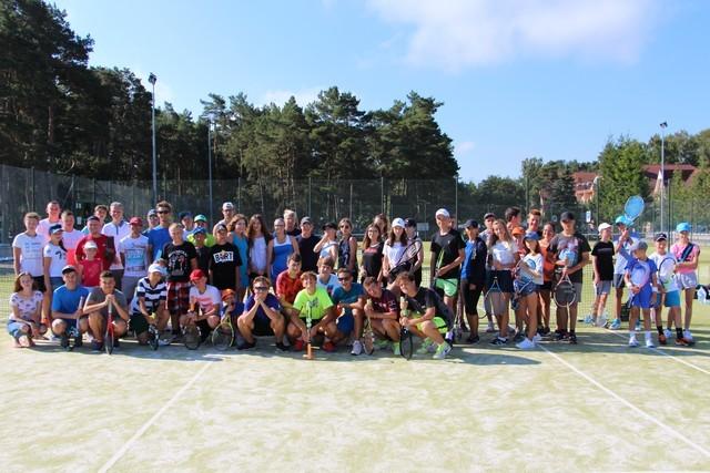 Obóz tenisowy w Pobierowie 2 Turnus