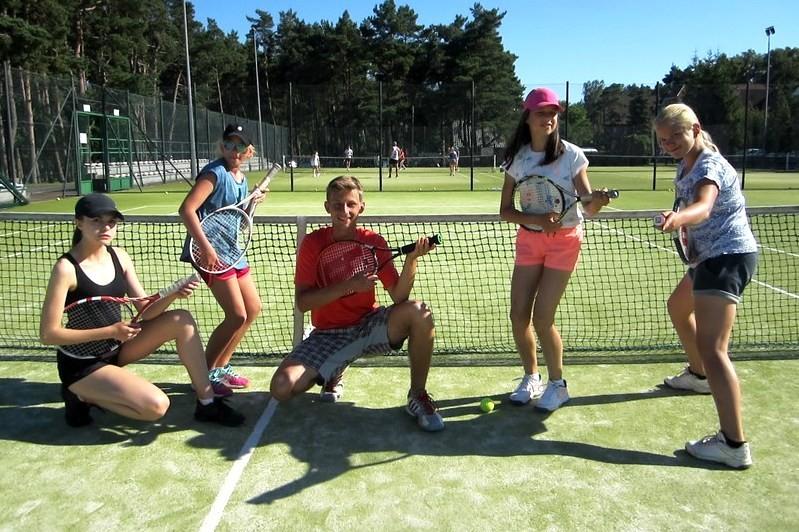 Obóz tenisowy w Pobierowie I