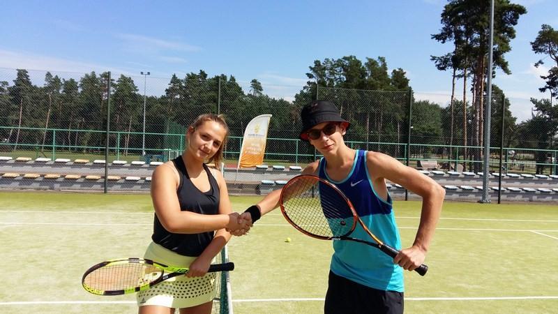 Obóz tenisowy w Pobierowie II