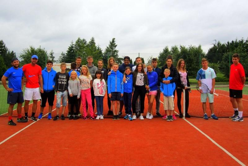 Obóz tenisowy w Sypniewie