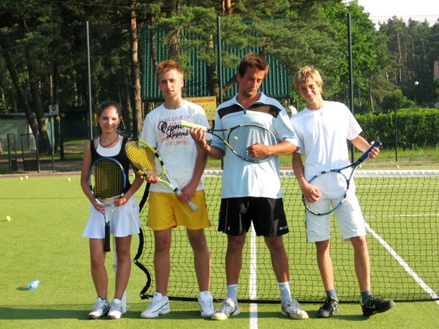 Obóz tenisowy Pobierowo